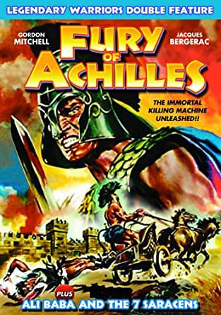 amazon com legendary warriors double feature fury of achilles