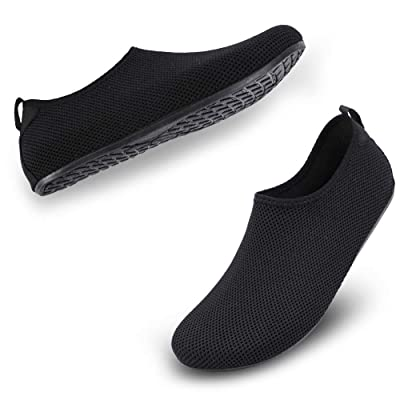 ALEADER Unisex Barefoot Beach Water Shoes Quick Drying Summer Outdoor Aqua Socks for Pool Swim Surf Yoga Exercise | Water Shoes