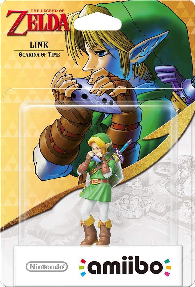 Nintendo - Figura Amiibo Link Ocarina of Time, Colección Zelda ...