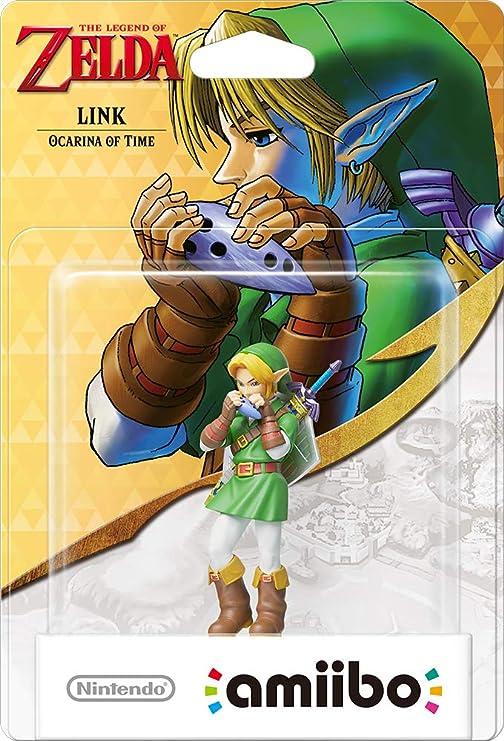 Nintendo - Figura Amiibo Link Ocarina of Time, Colección Zelda: Amazon.es: Videojuegos
