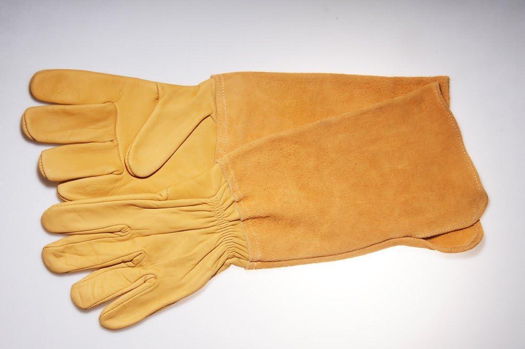 Gants de Jardinage Special /épineux pour Protection Avant Bras en Cuir Long