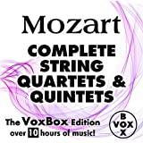 Mozart: Complete String Quartets and Quintets (The VoxBox Edition)