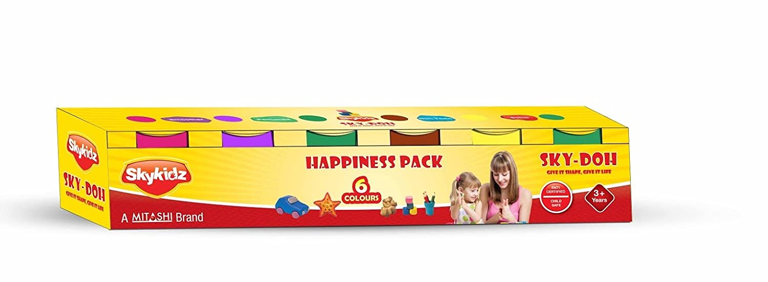 Sky Kidz Happiness Pack, Multi Color Doh