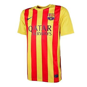 Nike Kurzärmliges Trikot FC Barcelona Away Stadium - Camiseta de equipación de fútbol para hombre (