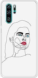 كفر حماية مرن  وشفاف   متوافق مع هواوي بي 30 برو - متعدد الألوان -  بواسطة اوكتيك