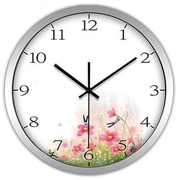 Weiwei Reloj Pared Reloj 12 Pulgadas Reloj de Pared 30cm Reloj salón de Pared Reloj: Amazon.es: Hogar