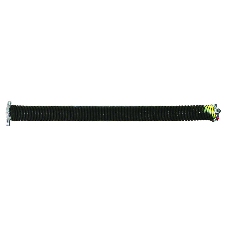 Prime-Line Products GD 12233 Garage Door Torsion Spring, .243 in. x 2 in. x 32 in., Yellow, Left Hand Wind