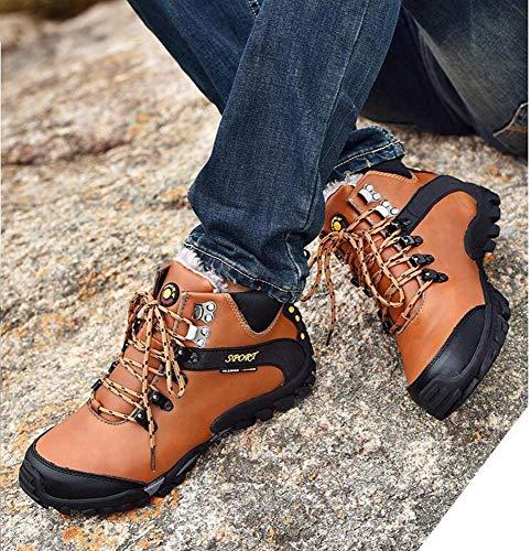 Trekking En Pour Grande De Air C Taille Cuir Hommes Hommes Chaussures amp;h D'escalade H Plein Randonnée IYw17qq