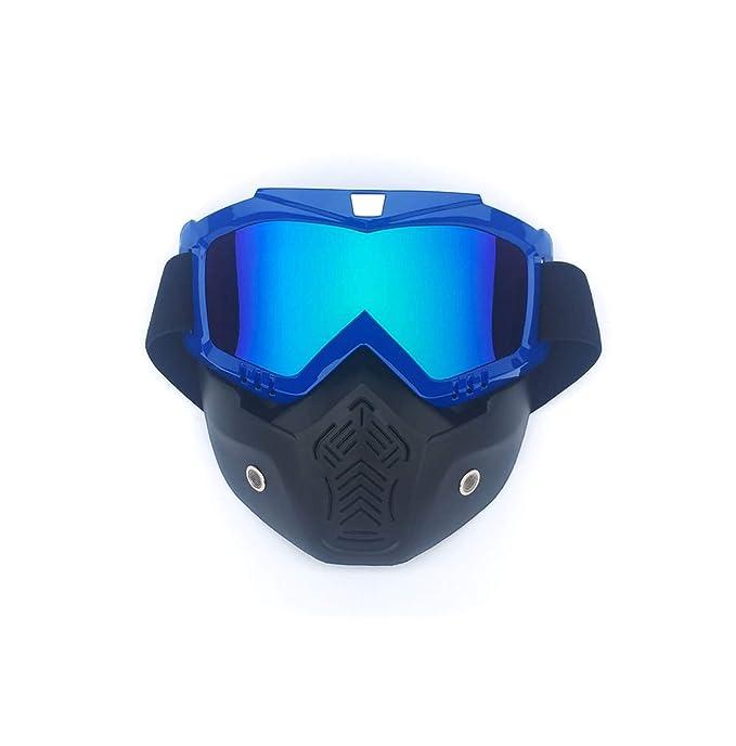 3d17228017 AnazoZ Gafas de Máscara Gafas Protectoras Viento Gafas de Moto Gafas  Todoterreno Gafas de Esqui Gafas