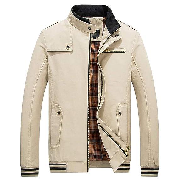 Luoluoluo Abrigos Hombre Invierno Sudadera Ropa Elegante, Ropa Chaqueta de Invierno Cálido Abrigo Outwear Delgado
