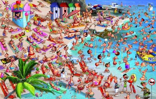 Piatnik Beach 1000 Piece Francois Ruyer Jigsaw Puzzle (Themed Jigsaw)
