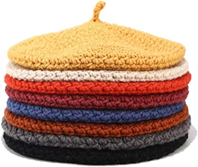 Slouchy Soft Woolen Newsboy Hats Women Winter Faux Fleece Flat Hat BOIYI Warm Chunky Beret Cap