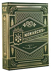 The world's finest, playing cards fit for a king. Monarch Playing Cards are back in a NEW print edition, with a deep forest green box. The gold metallic foil is striking, with a vintage, timeless aesthetic. They're absolutely breathtaking - and they ...