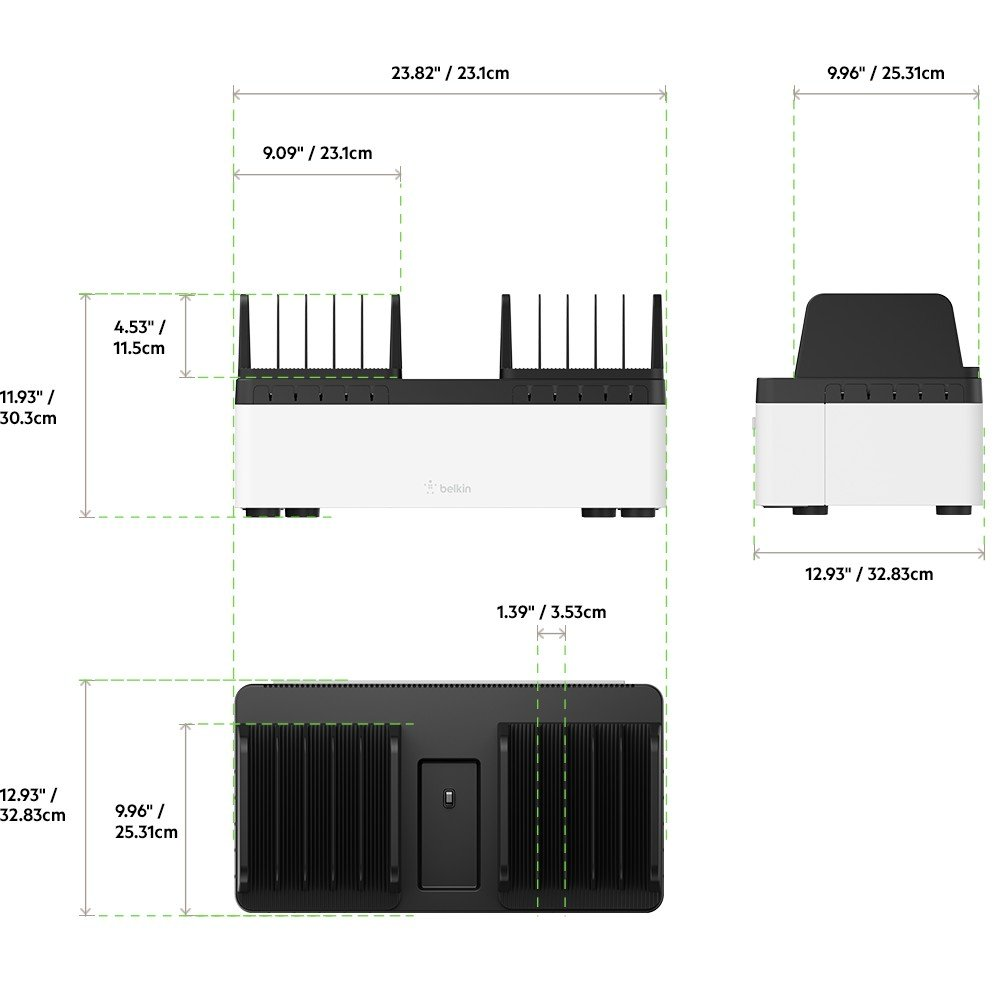 Belkin Store and Charge Go with Fixed Dividers - B2B141 by Belkin (Image #8)
