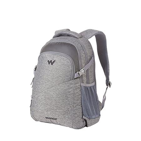 cb7a98e148 Wildcraft Laptop Backpack Traverse 2.1 (Melange Black)  Amazon.in  Bags