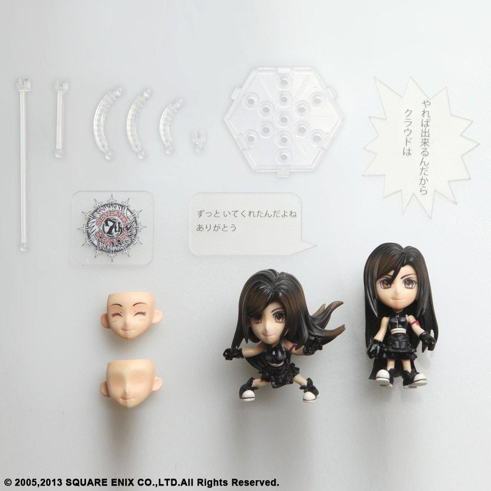 Square Enix Tifa FFVII AC Version Final Fantasy VII Trading Arts Kai Action Figure Bluefin Distribution Toys 81320-Square
