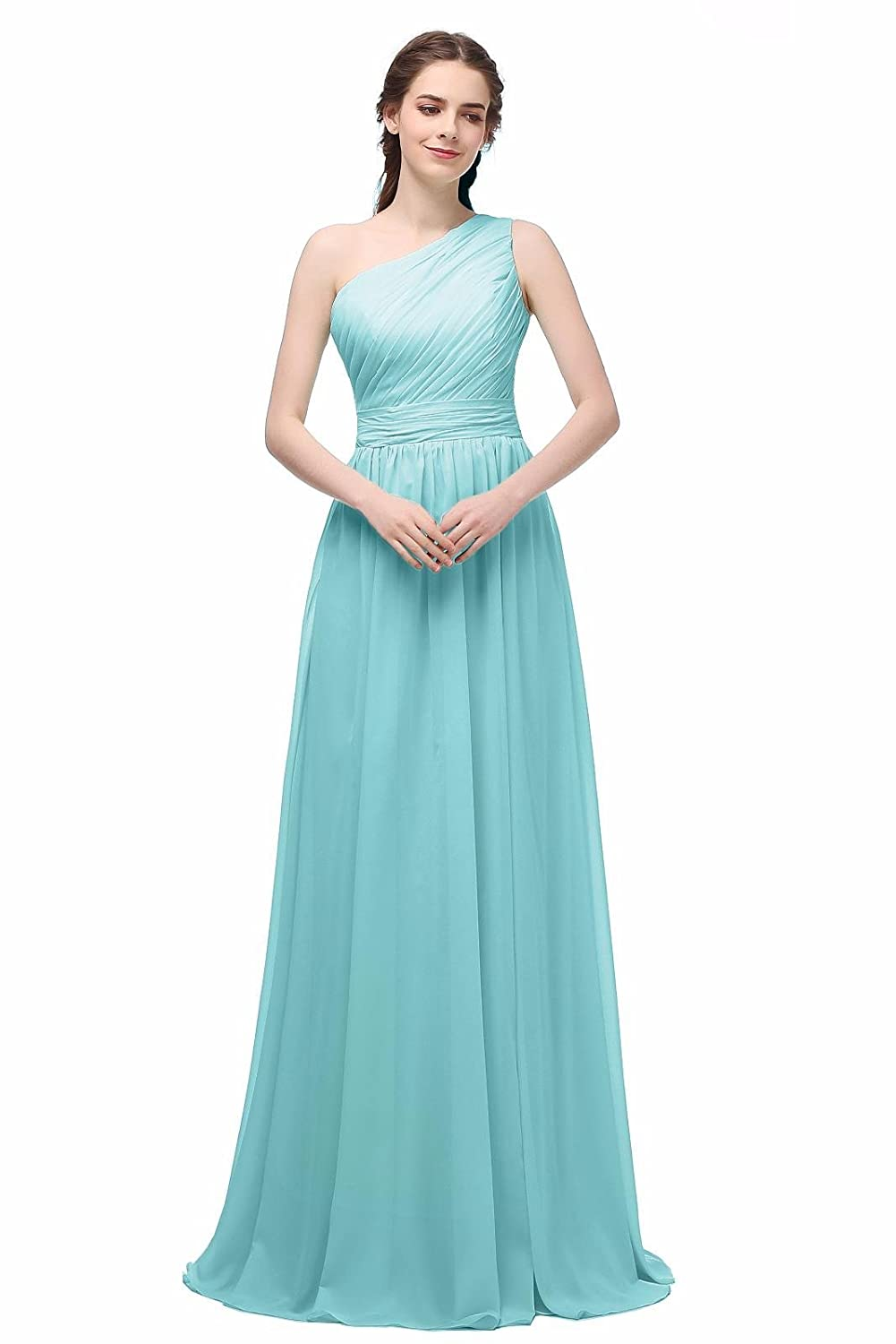 e891f0b6b2c4 Ever Girl Women's Bridesmaid Chiffon Prom Dresses Long Evening Gowns at  Amazon Women's Clothing store: