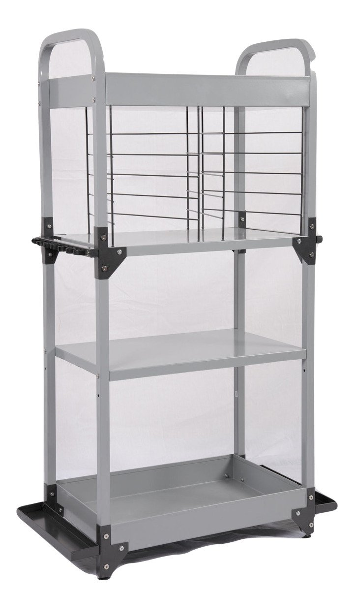 Heavy-Duty Mobile Metal Fishing Storage and Organization Tower by Tuff Stor
