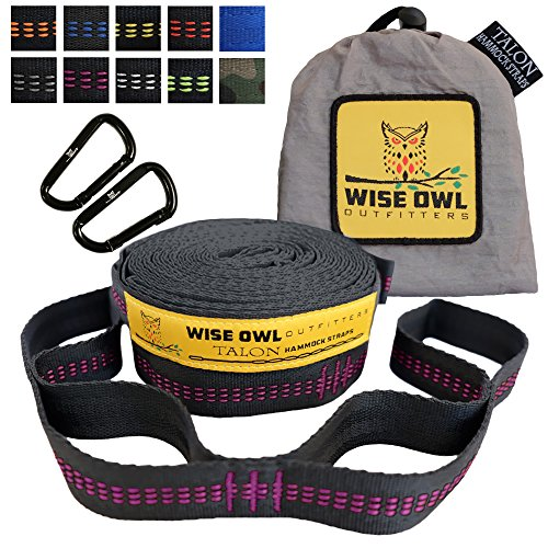 Wise Owl Outfitters Hammock Straps product image