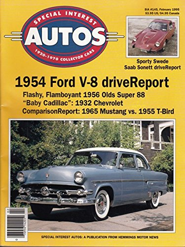 1995 95 January / February Special Interest Autos Magazine, for sale  Delivered anywhere in USA
