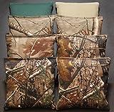 corn bags for hunting - CORNHOLE BEAN BAGS REALTREE Camo Camoflauge 8 ACA Real Tree Hunting Fishing Bags
