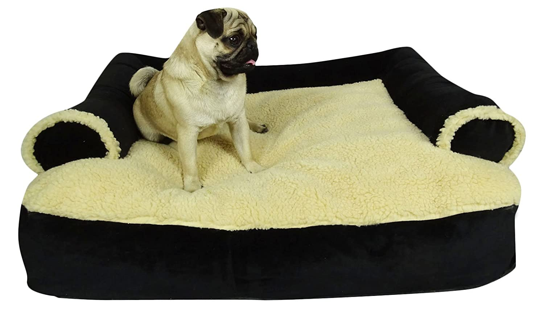 Dog Couture Rechteckiges Waschbares Weiches Schlafsofa Reisekissen Haustier Hund - Größe auswählen