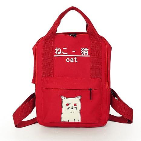 mochilas escolares juveniles niña Switchali Lona bolsas escolares moda Pijo Mochila escolares niño mochilas mujer casual