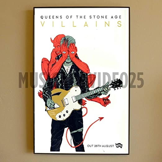 Queens Of The Stone Age 5 American Rock Music Legend Band Poster Josh Homme