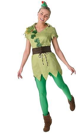 Rubieu0027s Official Ladies Peter Pan Adult Costume - Small  sc 1 st  Amazon UK & Rubieu0027s Official Ladies Peter Pan Adult Costume - Small: Rubies ...