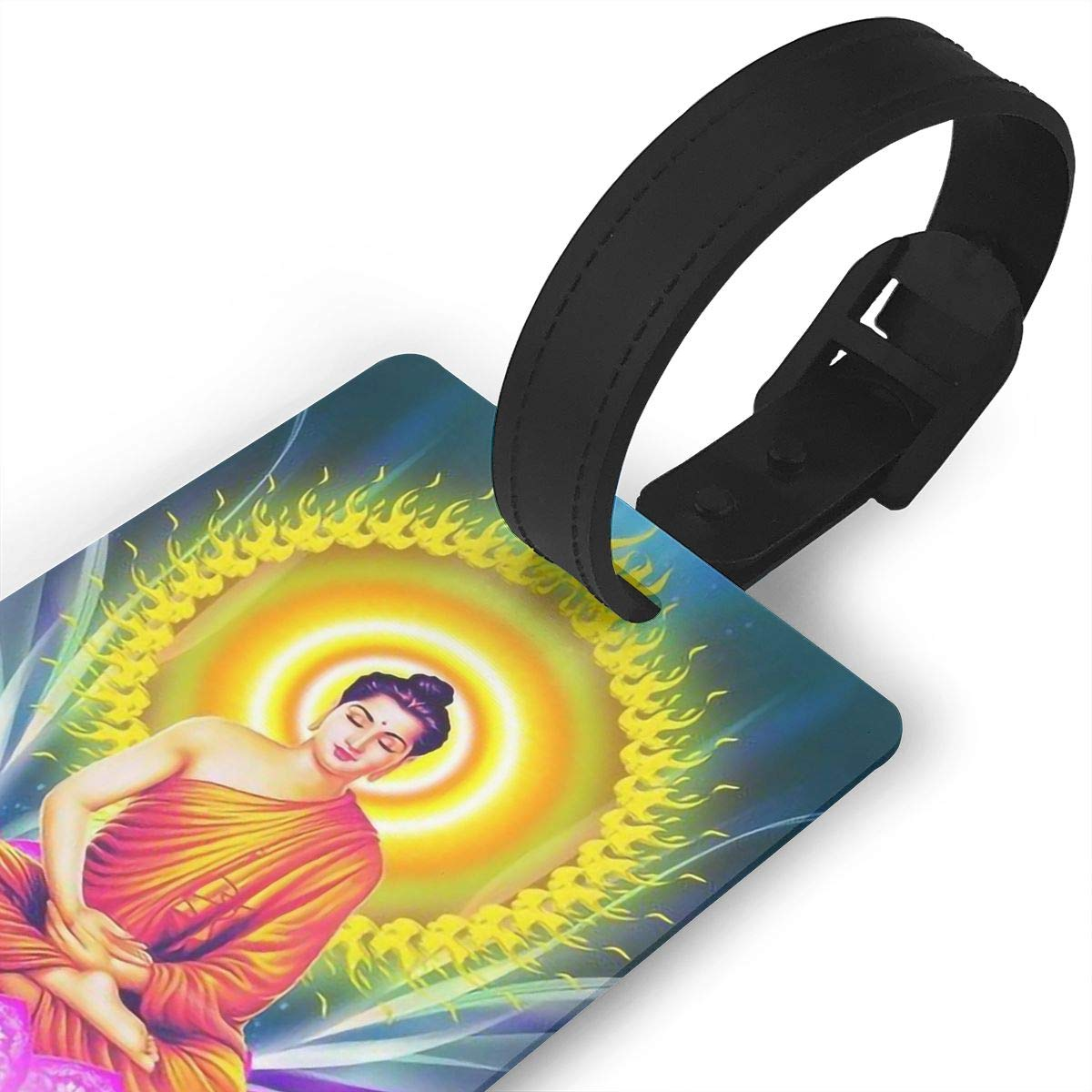 Buddhism Handbag Tag For Travel Tags Accessories 2 Pack Luggage Tags