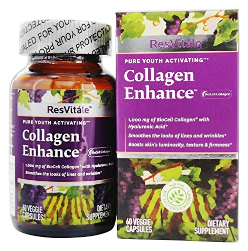 ResVitale Collagen Enhance Vegetarian Capsules