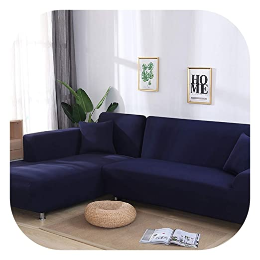 Fairy music - Funda para sofá en Forma de L, elástica, Color ...