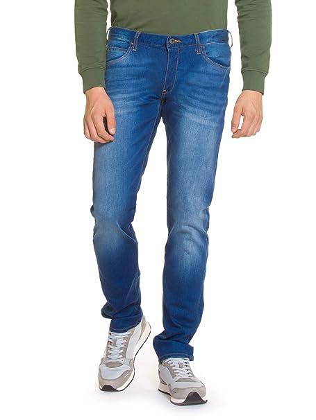 Emporio Armani Vaqueros Jeans Denim de Hombre Pantalones BLU ...