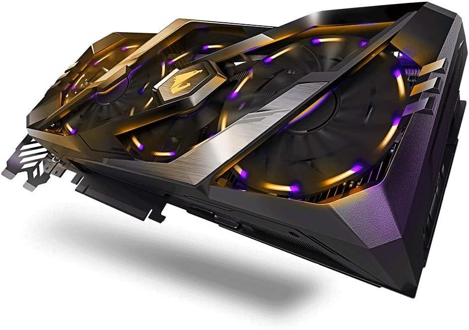 GIGABYTE AORUS Geforce RTX 2080 8GB DDR6 - Tarjeta gráfica (256 ...
