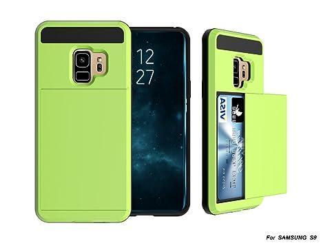 Alfort Funda Samsung S9 Plus, 2 en 1 Carcasa Samsung Galaxy ...