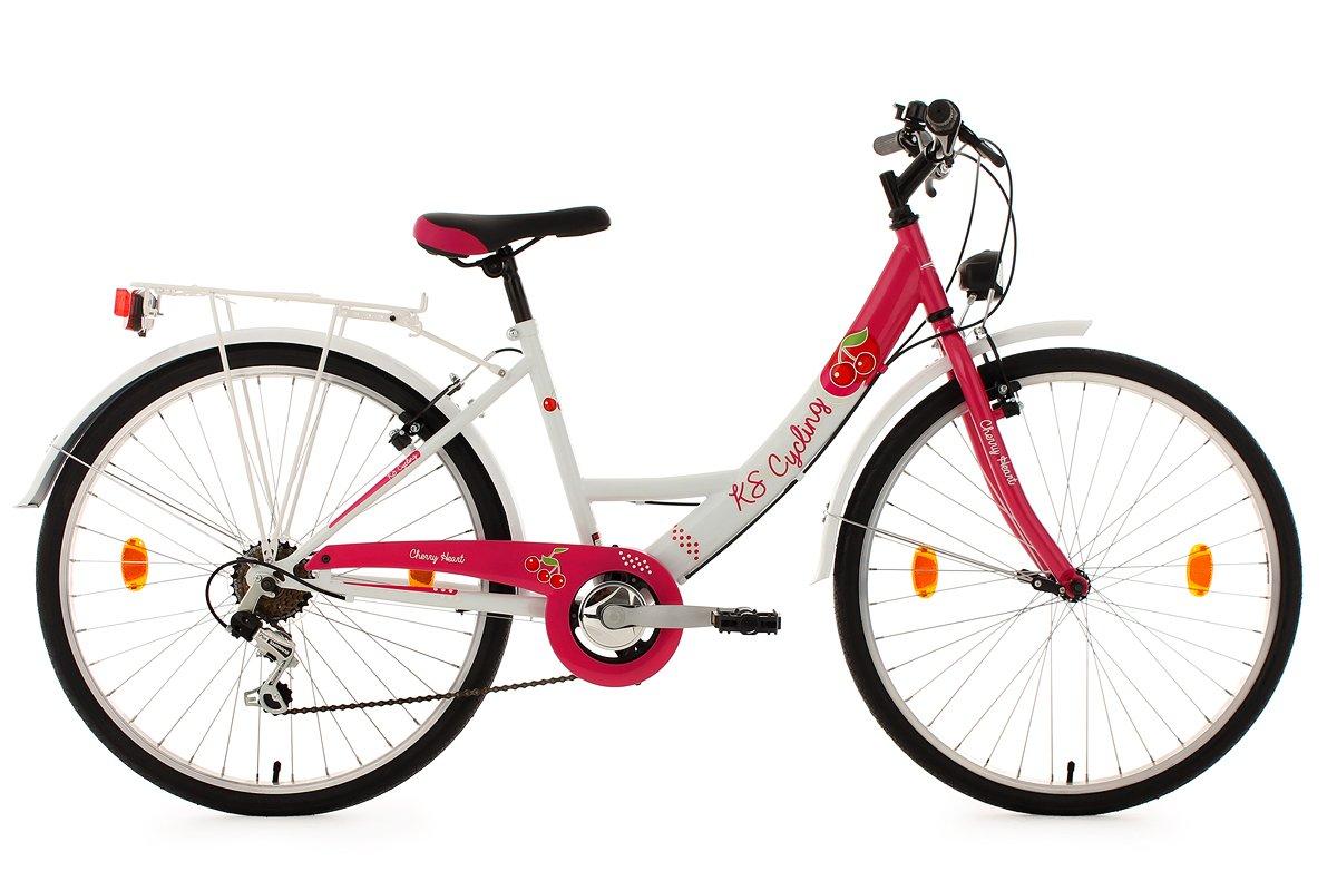 KS Cycling Kinder Kinderfahrrad Cherry Heart Fahrrad
