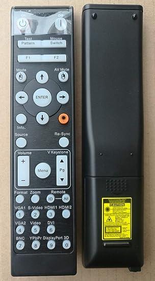 Calvas - Mando a Distancia para Optoma Projector EH515T X515 ...