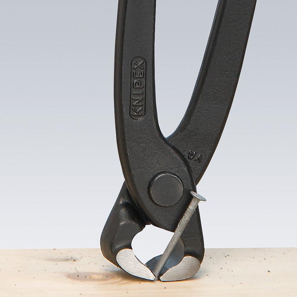 KNIPEX 99 01 220 EAN Tenaza para armadores (Alicates Rabitz o de trenzador) negro atramentado recubiertos de plástico 220 mm: Amazon.es: Bricolaje y ...