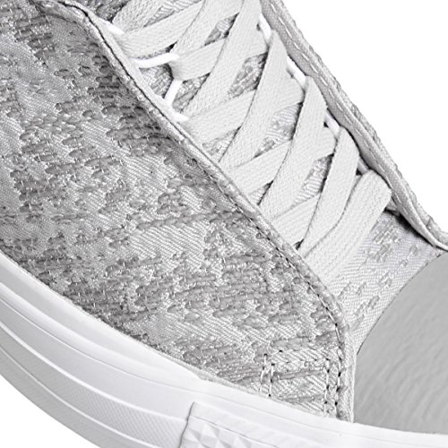 Converse Trainers - Converse Chuck Taylor All Star Selene Shoes - Mouse/Metallic Glacier Grau