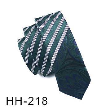WOXHY Corbata de los Hombres Diseño de Corbata de 5,5 cm de Ancho ...