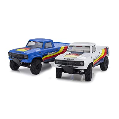 Kyosho 34361T2B Outlaw Rampage 1/10 2WD 2SRA Electric Truck, Blue, Readyset: Toys & Games