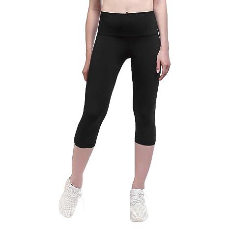 e8feeda9eeb Yunoga Women s High Waist Yoga Pants - 4 Way Stretch Tummy Control Workout  Leggings with Hidden Pockets