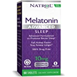 Natrol Advanced Sleep Melatonin Tablets, 10mg, 60 Count