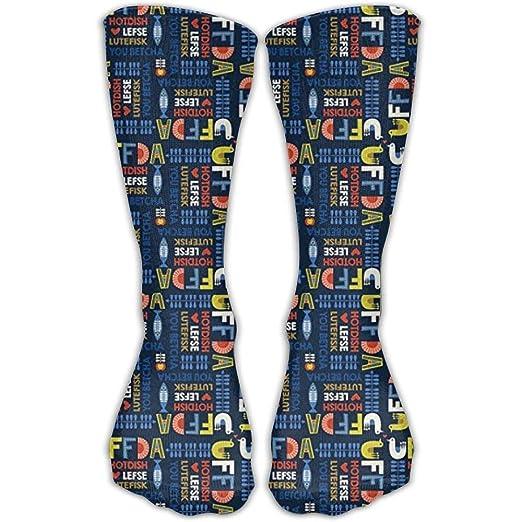 Amazon com: Sock Scandinavian Uffda Navy Unisex Sport Over