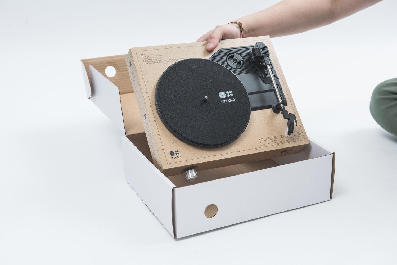 Amazon.com: amadana portátil DIY Tocadiscos spinbox (mármol ...