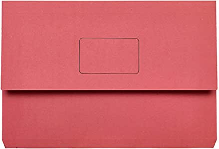 Marbig Slimpick Foolscap Document Wallet (Red)