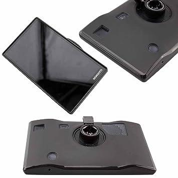 caseroxx GPS Tasche für Garmin DriveSmart 61 LMT, Navi Tasche in Schwarz