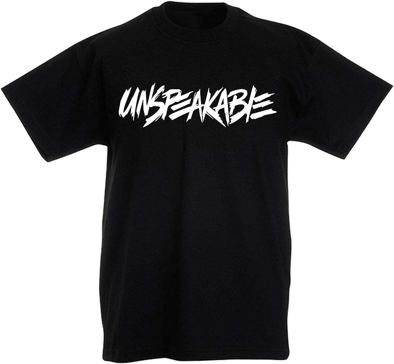 SMG/® Kids Boys Girls Unspeakable Children Cotton T-Shirt