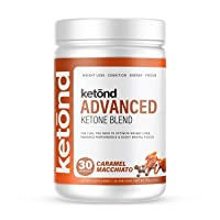 Ketond Advanced Ketone Blend — High-Performance Weight Loss Supplement - 30 Servings (Caramel Macchiato)