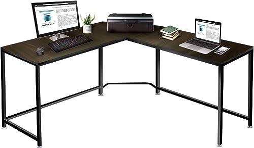 """OXV Upgraded L-Shaped Desk 59.1"""" Computer Corner Desk"""